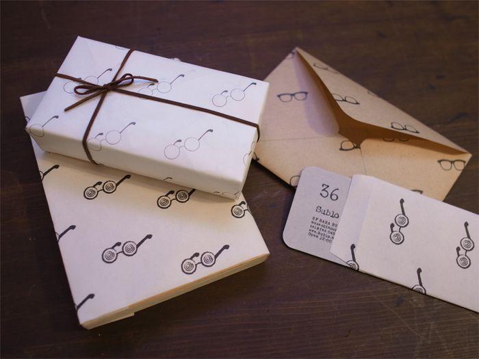 36オリジナル メガネ包装紙