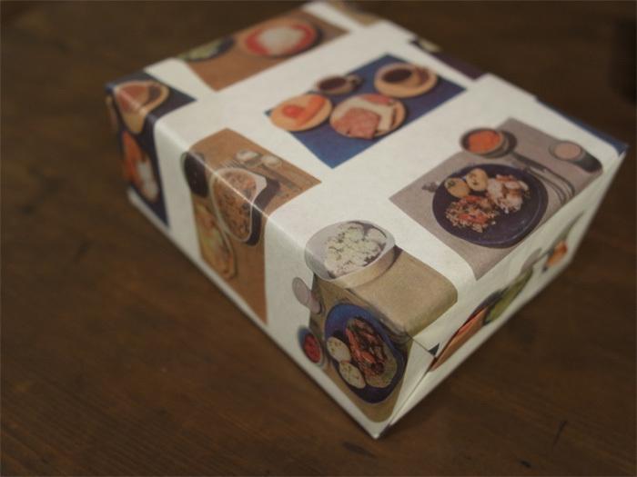 36オリジナル 食育包装紙