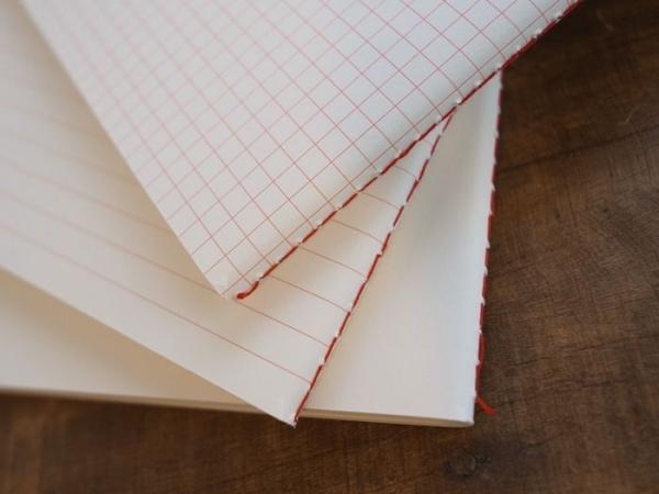 きれいなノート ナヌーク 赤糸